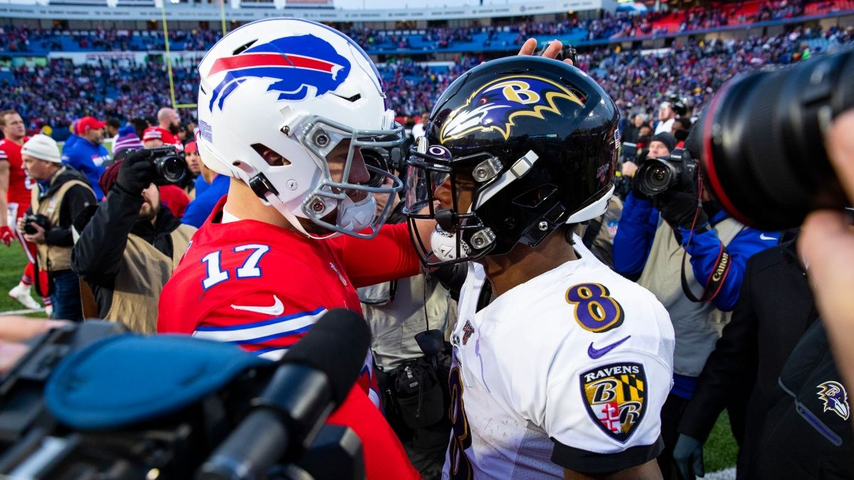 NFL Odds & Picks For Bills vs. Ravens: Bet Baltimore To Cover As Playoff Underdog Saturday Night article feature image