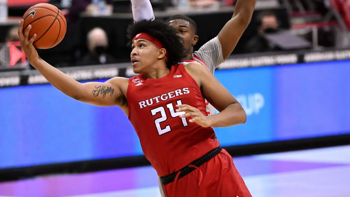 Odds & Pick for Rutgers vs. Michigan State College Basketball: Scarlet Knights Poised To Cover Against Sparty article feature image