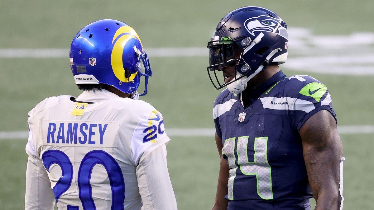 Seahawks vs. Rams WR/CB Matchups: D.K. Metcalf Gets Downgrade vs. Jalen Ramsey article feature image