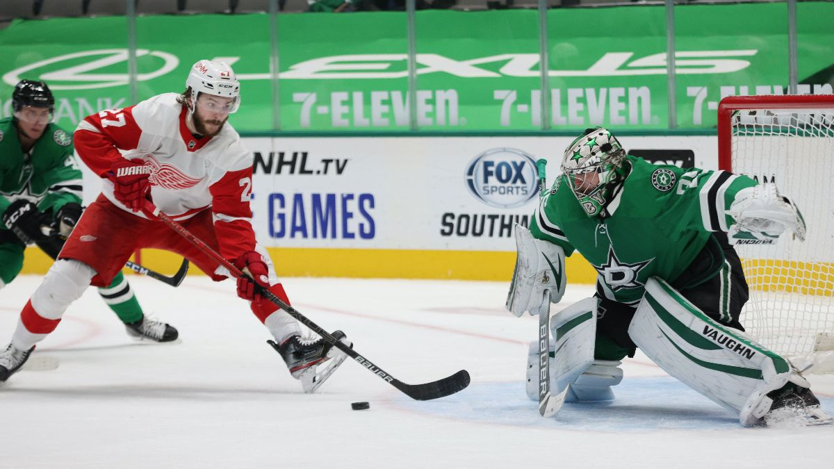 Red Wings vs. Stars Odds & Picks: Keep an Eye on Dallas' Injured Trio article feature image