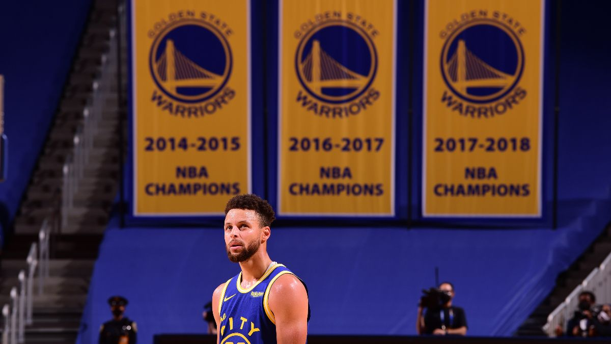 NBA Playoff Odds: Will the Warriors Make the Postseason? article feature image