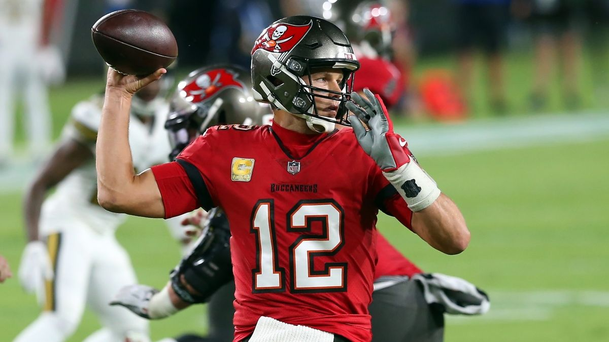 Buccaneers vs. Saints PRO Report: Betting Systems & Edges for Sunday's NFL Playoff Spread & Total article feature image
