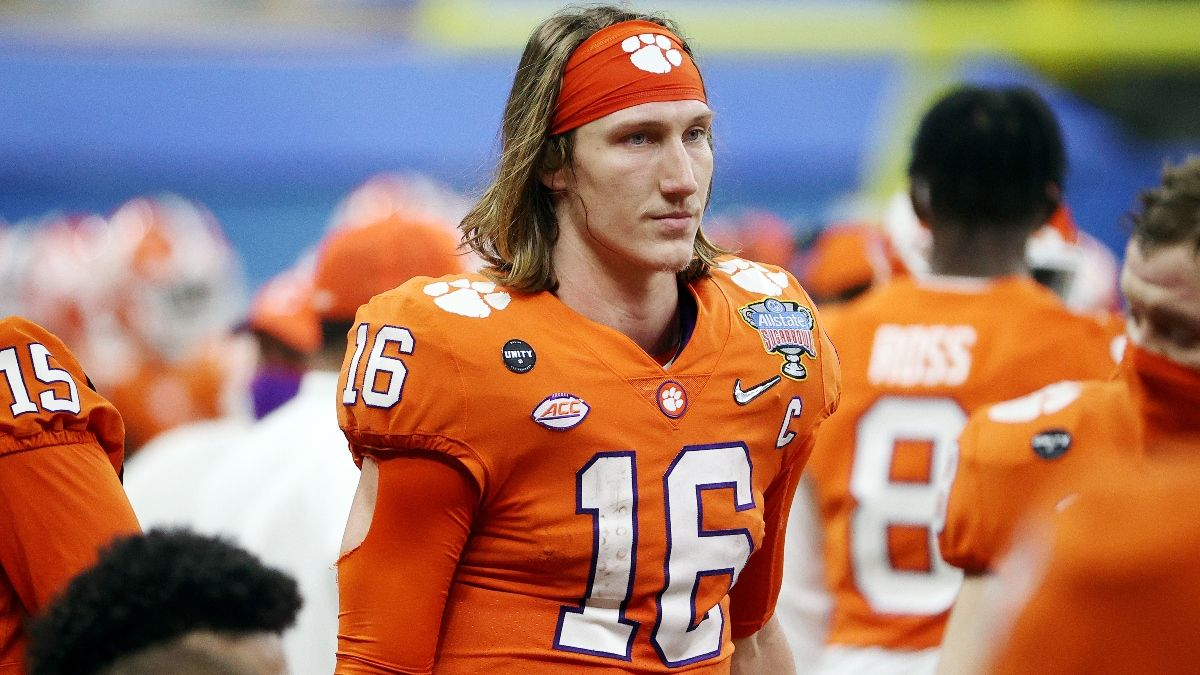 2021 NFL Draft Odds & Prop Picks: Bet Everything on Trevor Lawrence Going No. 1 article feature image