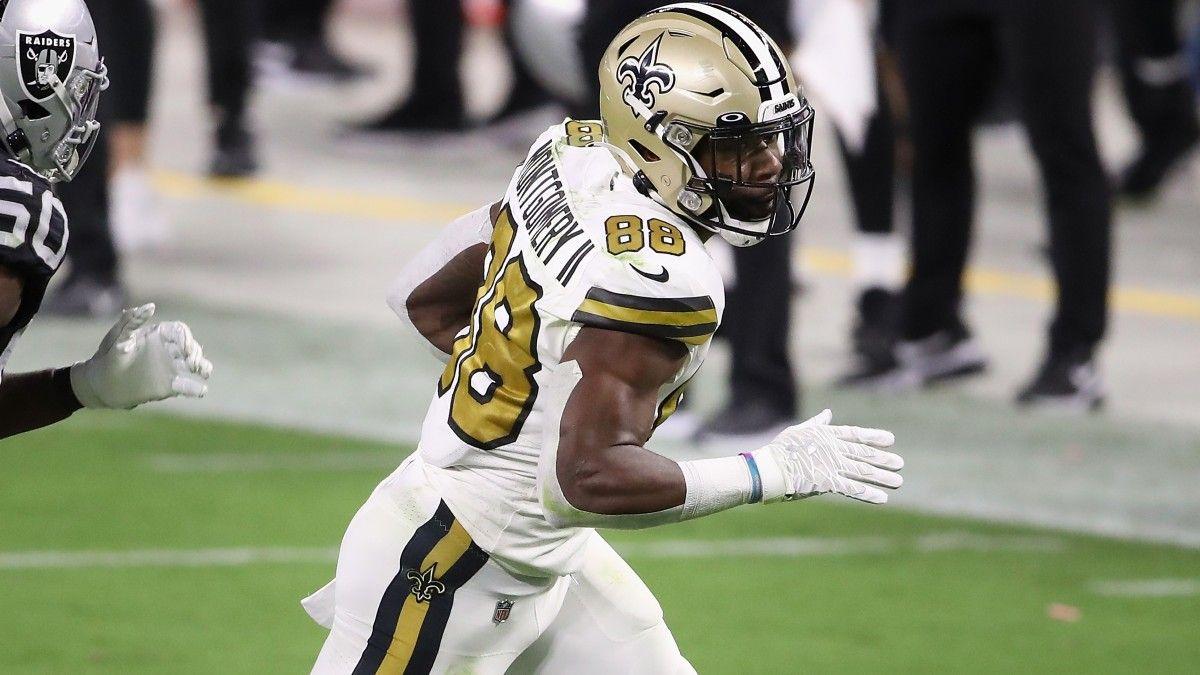 Updated NFL Week 17 Fantasy Rankings: Ty Montgomery Replacing Alvin Kamara in Saints' Backfield article feature image