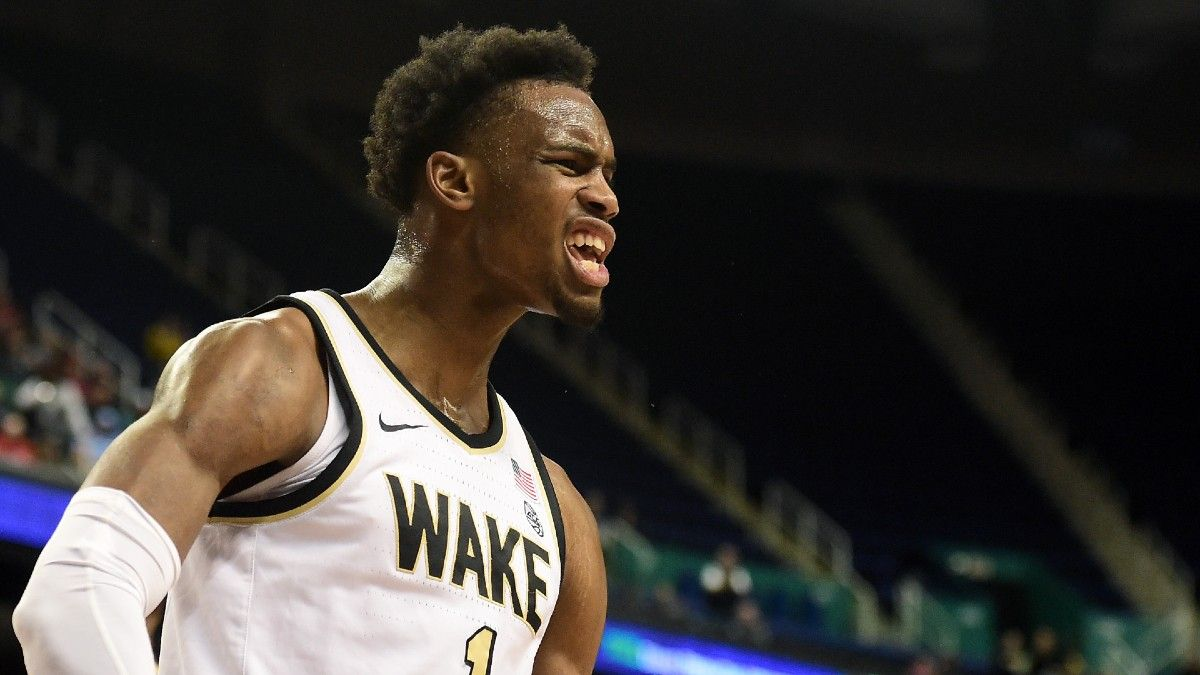 Saturday NCAAB Best Bets: Three Man Weave's Top 3 Picks, Including Wake Forest vs. Pitt, Valparaiso vs. Illinois State & More article feature image