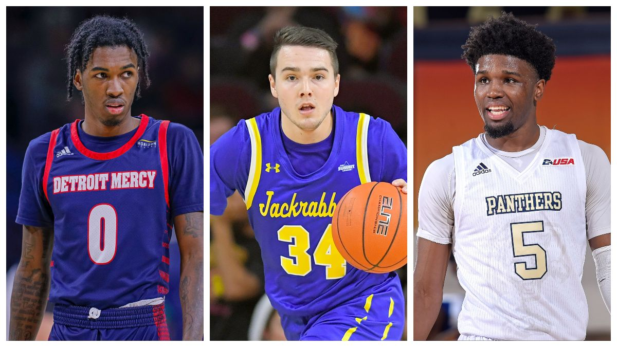 Friday College Basketball Best Bets: Three Man Weave's Top 3 Picks, Including UTSA vs. FIU, South Dakota vs. SDSU and More article feature image