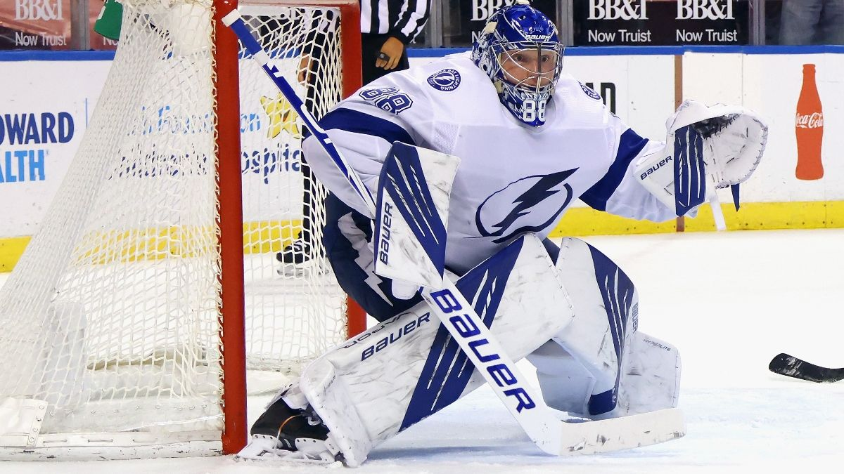 NHL Odds & Pick for Lightning vs. Hurricanes: Reigning Champs Have Betting Value (Monday, Feb. 22) article feature image