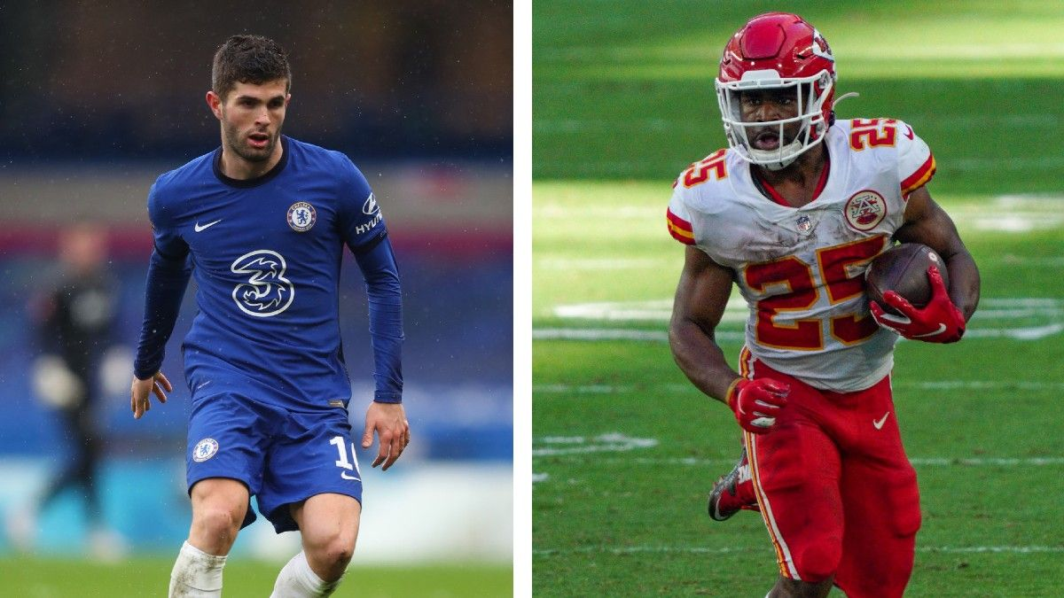 Super Bowl 55 Cross-Sport Props: 7 Picks, Including Clyde Edwards-Helaire vs. Christian Pulisic article feature image