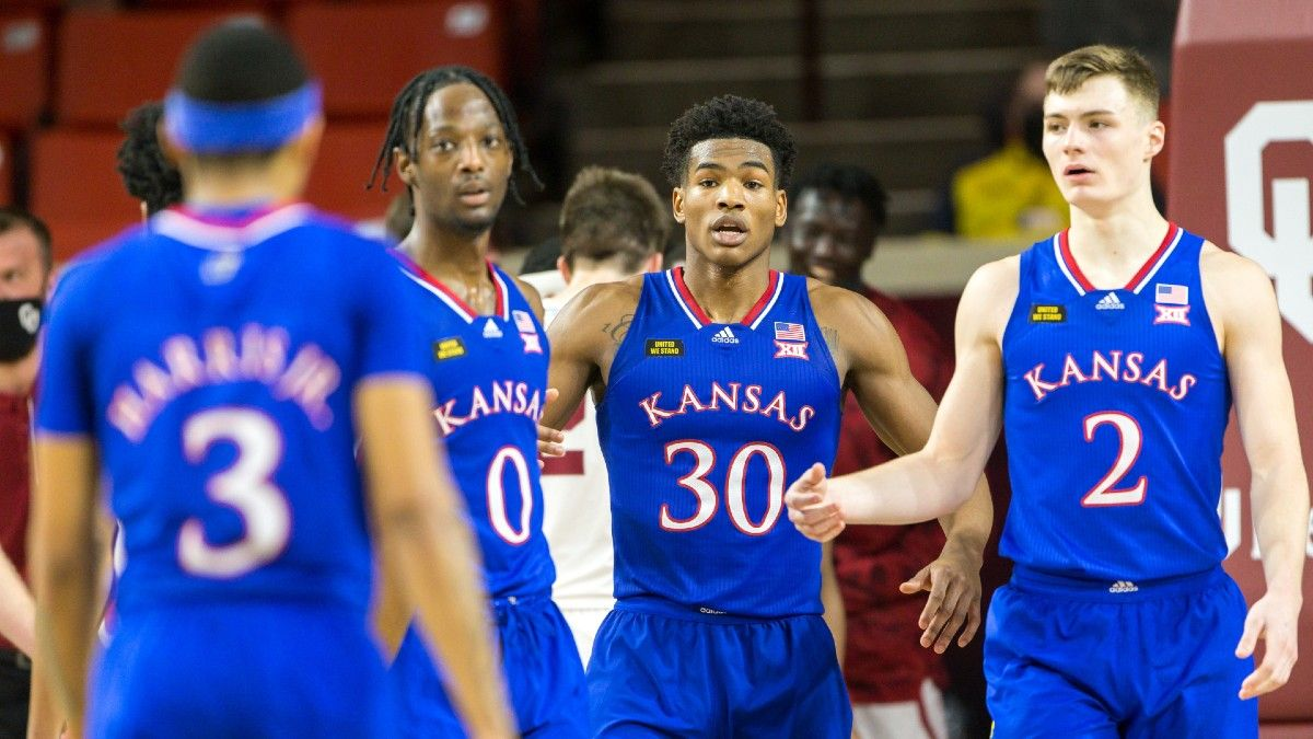 West Virginia vs. Kansas College Basketball Betting Odds & Picks: Back Jayhawks as Short Road Dogs article feature image