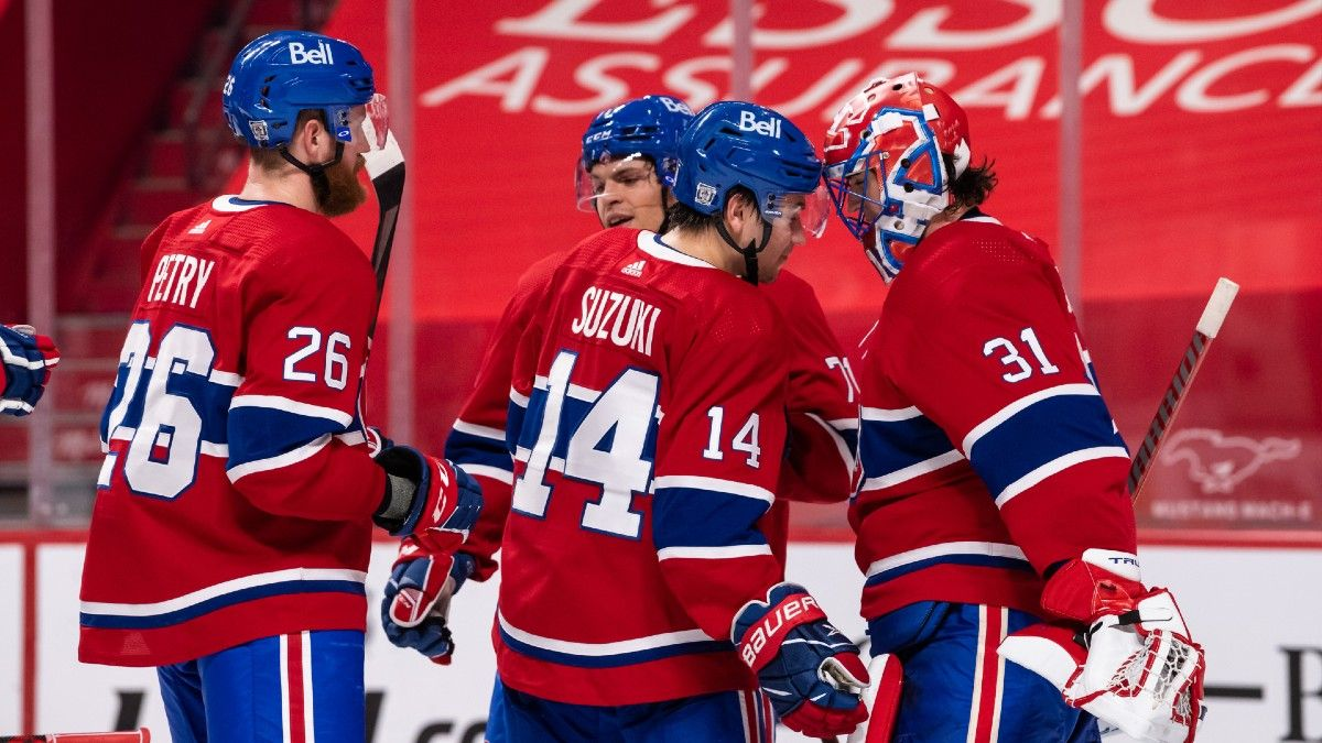Canucks vs. Canadiens NHL Betting Odds, Picks & Predictions: Can Montreal Repeat Monday's Dominance? (Feb. 2) article feature image