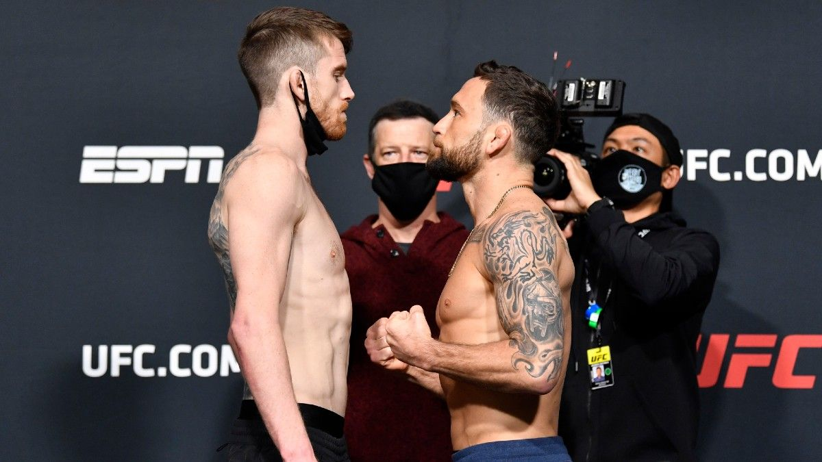 UFC Fight Night Odds & Picks: How to Bet Cory Sandhagen vs. Frankie Edgar (Feb. 6) article feature image