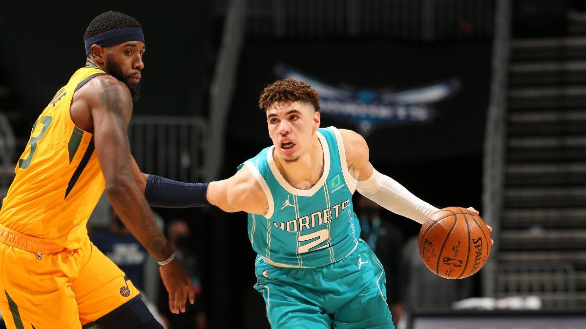 NBA Player Props: 3 Picks For Monday's Slate, Including LaMelo Ball (Feb. 22) article feature image