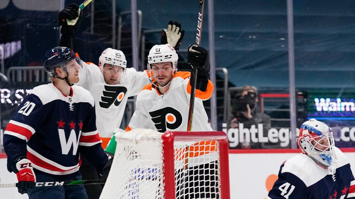 Philadelphia Flyers vs. Washington Capitals NHL Odds & Pick: Expect Offensive Fireworks to Continue article feature image