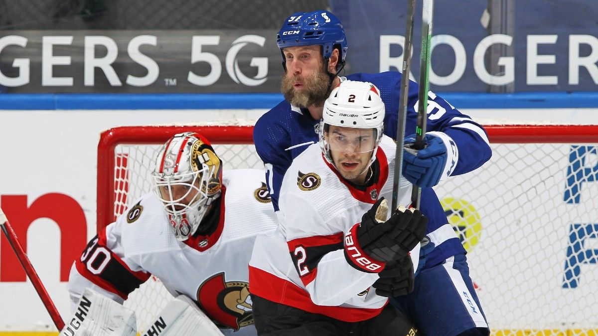 NHL Odds & Pick for Senators vs. Maple Leafs: Bet the Under in Final of Three Straight Meetings article feature image