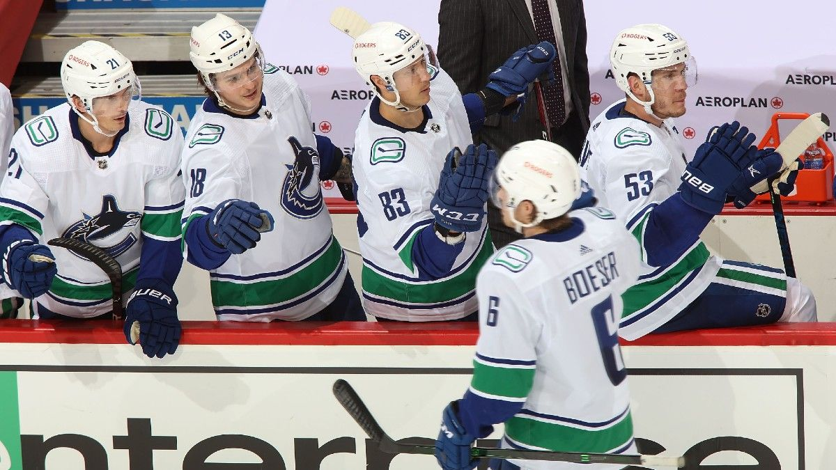NHL Odds & Pick for Jets vs. Canucks: Vancouver Should Prevail in Tightly Contested Matchup article feature image