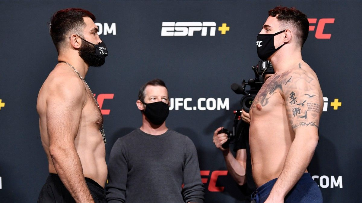 UFC Fight Night Best Bets, Picks & Predictions: Landwehr vs. Erosa, Arlovski vs. Aspinall article feature image