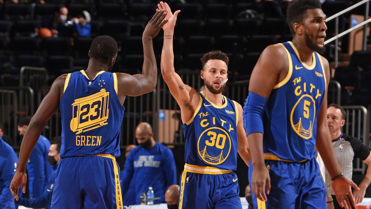 Warriors vs. Lakers NBA Odds & Picks: Can Golden State Get It Done on the Road? (February 28) article feature image