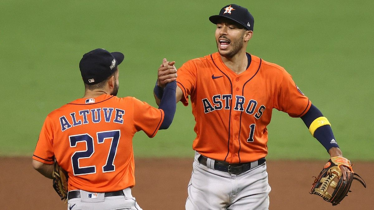 Zerillo's 2021 MLB Win Totals and Futures: Riding the Houston Astros to the Moon article feature image