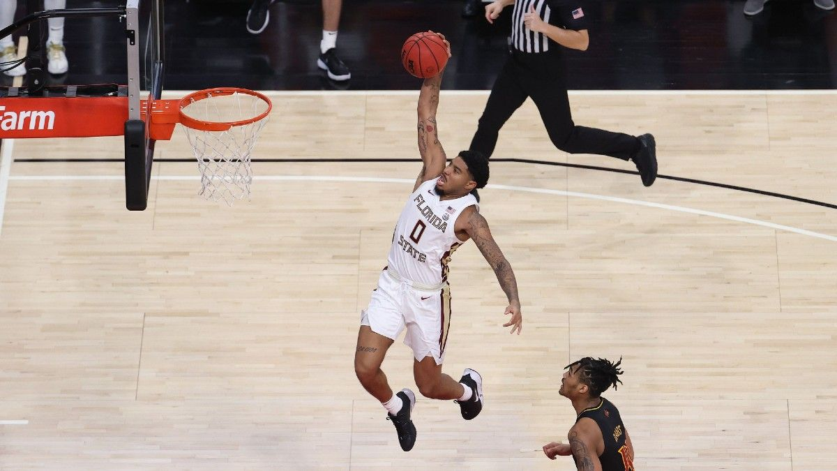 Odds & Pick for Virginia vs. Florida State College Basketball: Seminoles Have Edge in ACC Heavyweight Tilt article feature image