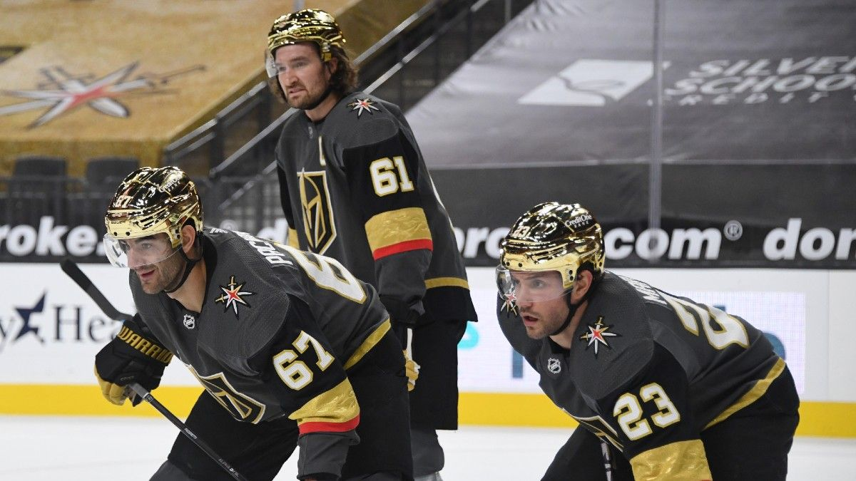 Saturday NHL Odds & Pick for Golden Knights vs. Sharks: Betting Value on Vegas Team Total (Feb. 13) article feature image