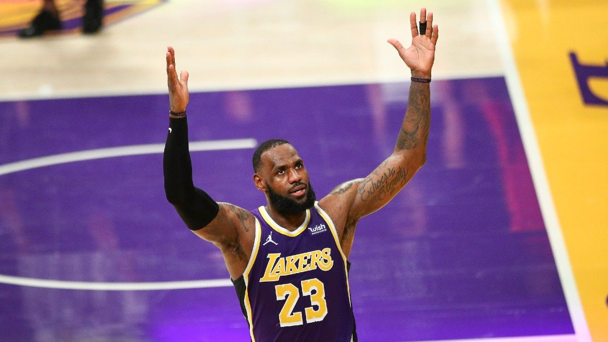 Nets vs. Lakers Odds & Picks: Market Not Accounting For Anthony Davis Enough article feature image