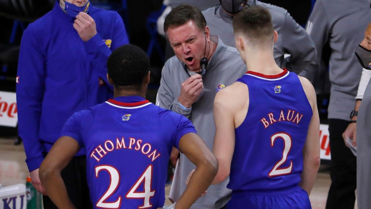 Texas Tech vs. Kansas Odds & Pick: Points Will Be at a Premium in Big 12 College Basketball Rematch article feature image