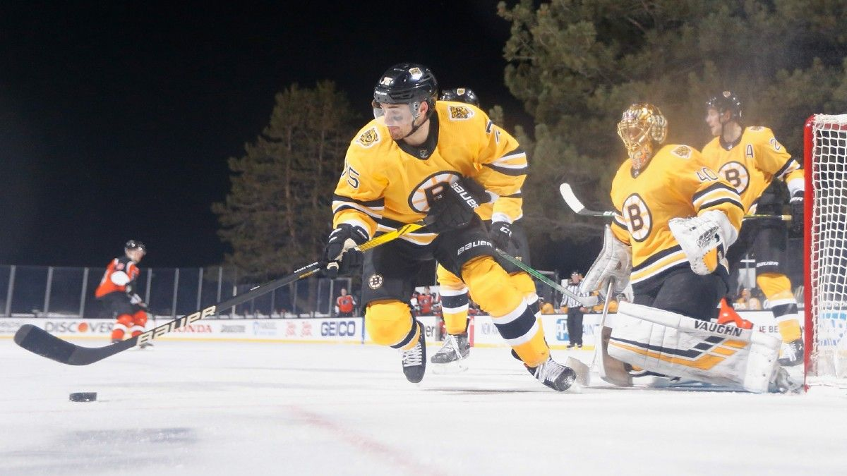 NHL Betting Odds & Pick for Bruins vs. Islanders: Expect Defensive Struggle on Long Island (February 25) article feature image