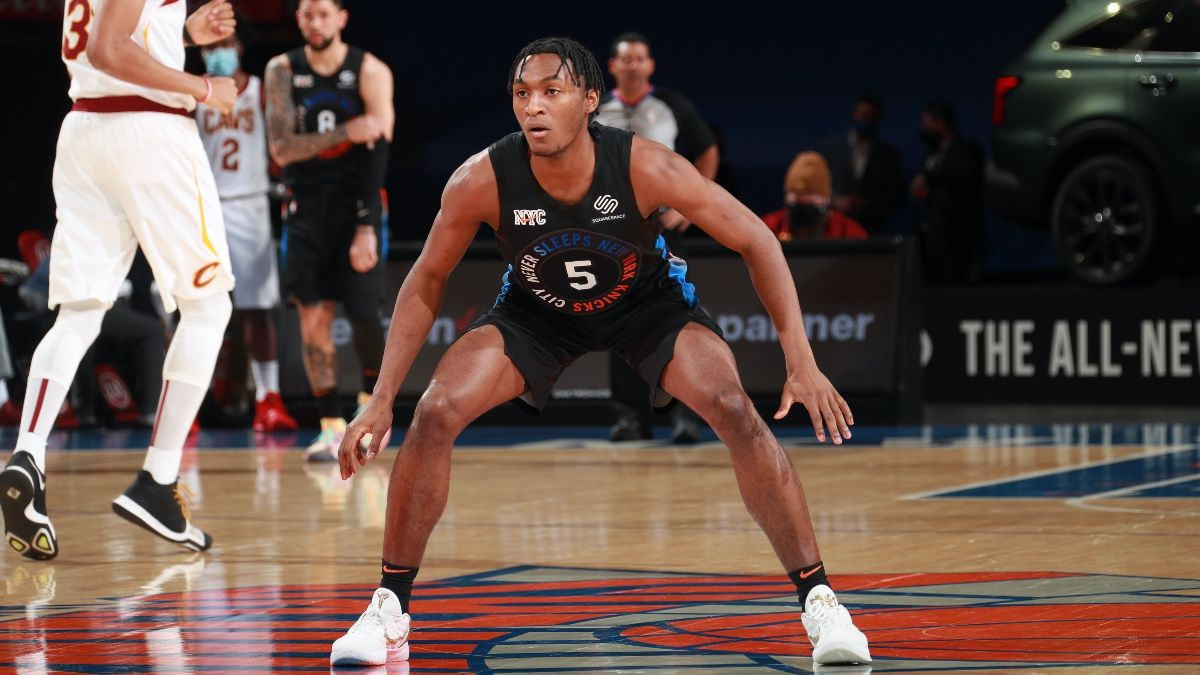 NBA Player Prop Bets & Picks: Immanuel Quickley, James Ennis Among Tuesday's Value Plays (Feb. 9) article feature image