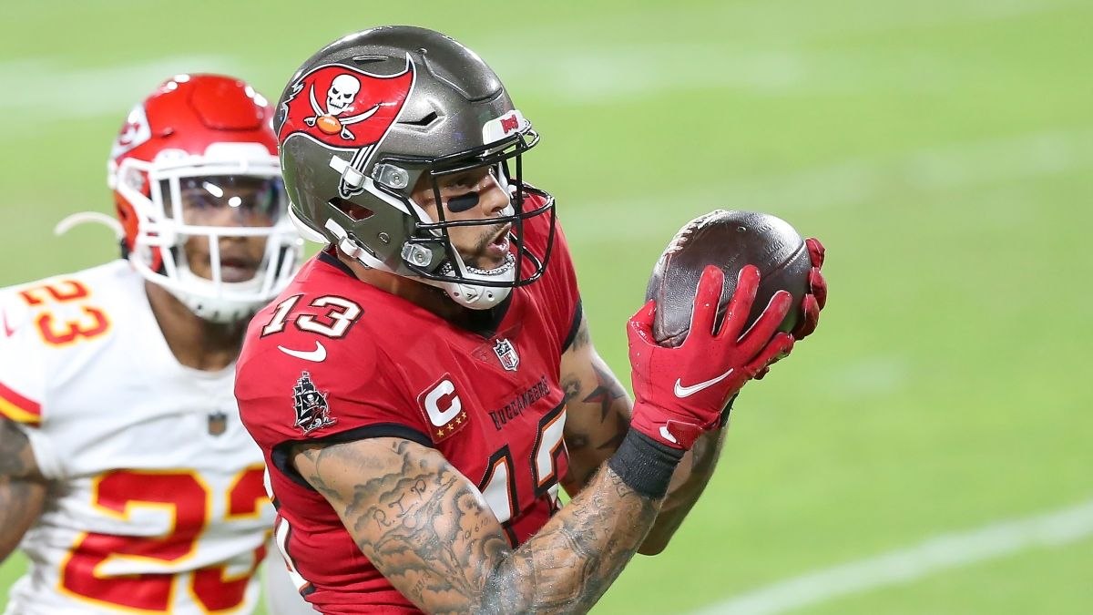 Mike Evans Prop Picks: Target These 2 Unders for the Buccaneers WR in Super Bowl 55 article feature image