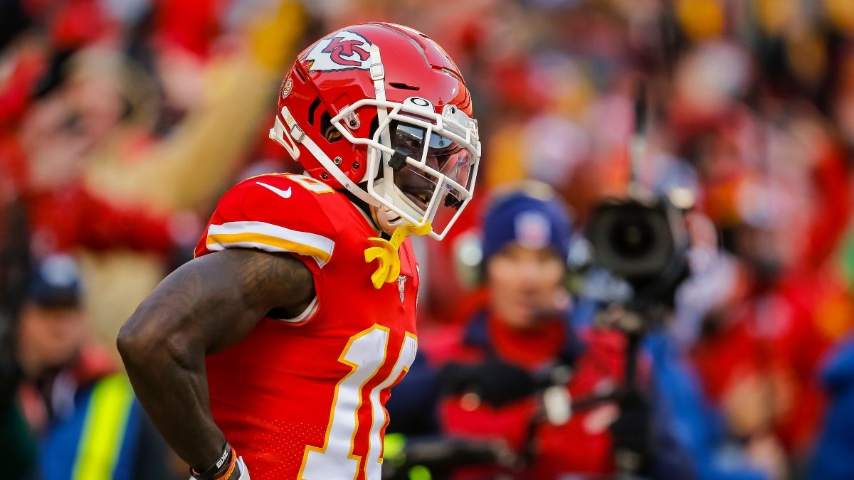 Super Bowl 55 Prop Picks: 3 Tyreek Hill Overs to Bet in Chiefs vs. Bucs article feature image