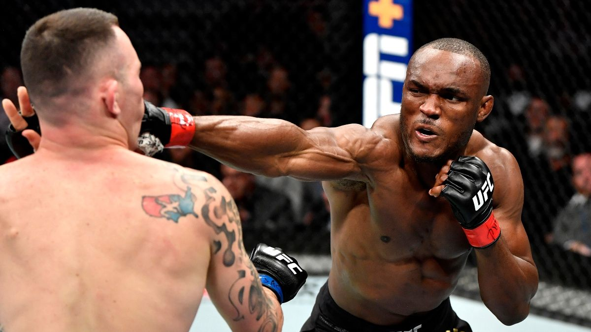 DraftKings UFC 258 Promo: Bet the Main Event at 100-1 Odds! article feature image