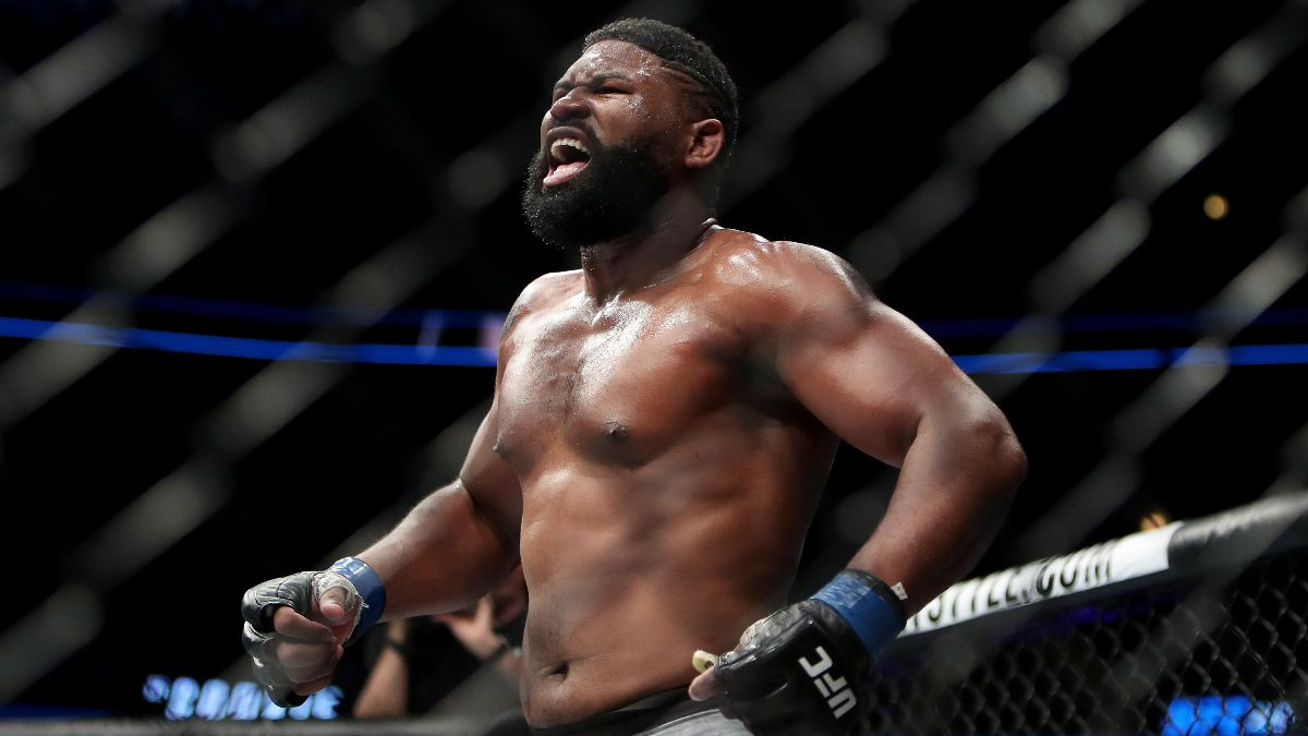 Curtis Blaydes vs. Derrick Lewis UFC Fight Night Odds & Picks: How to Bet Two Explosive Heavyweights (Saturday, Feb. 20) article feature image