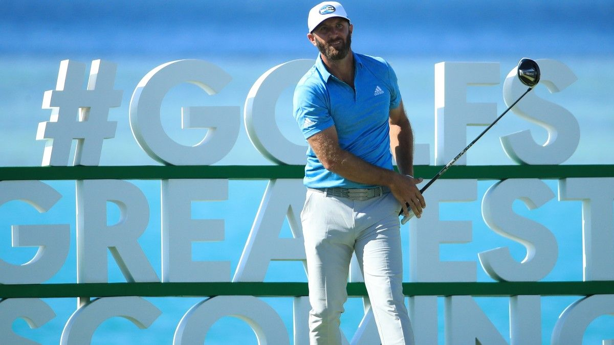Dustin Johnson Withdraws at Pebble Beach: How Betting Odds Moved Following the News article feature image
