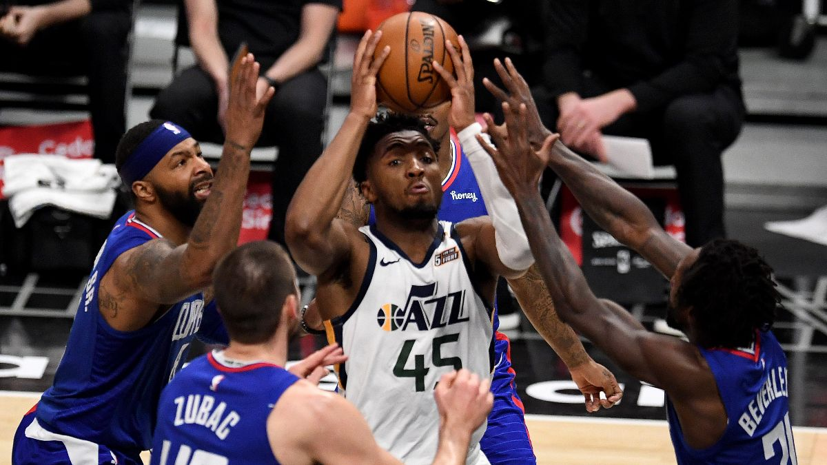 NBA Playoffs Series Odds & Schedule: Jazz Small Favorites vs. Clippers in Round 2 article feature image