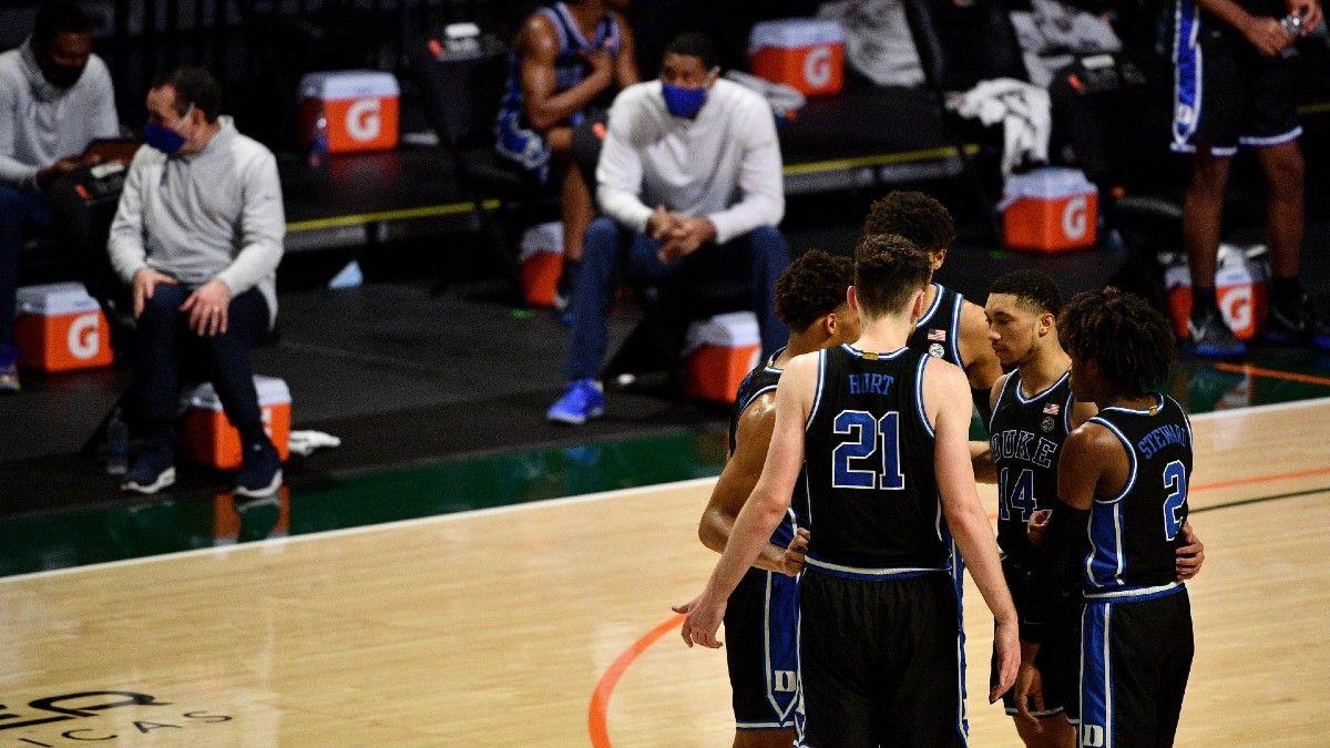 Virginia vs. Duke Odds & Pick: Bet the Blue Devils Without Jalen Johnson article feature image