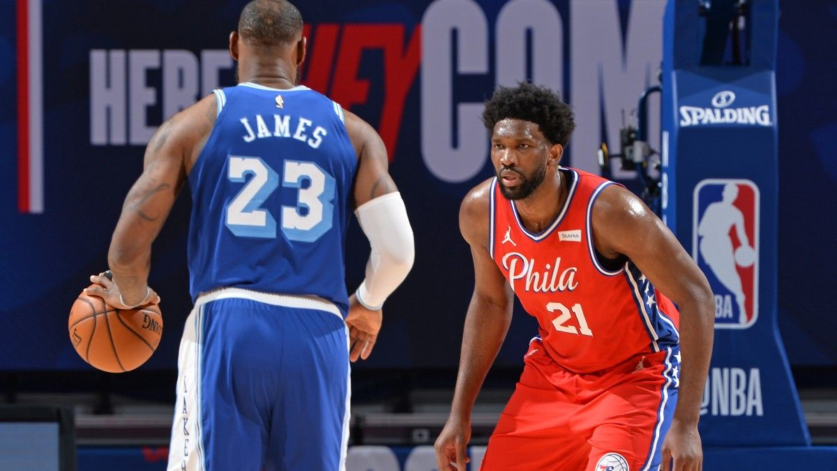 Joel Embiid MVP Odds Movement: How Sixers Star Closed Gap On LeBron James (Tuesday, Feb. 23) article feature image