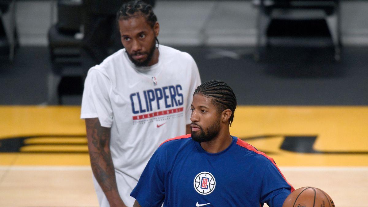 NBA Injury News & Starting Lineups (Feb. 19): Paul George, Kawhi Leonard Active vs. Jazz Friday article feature image