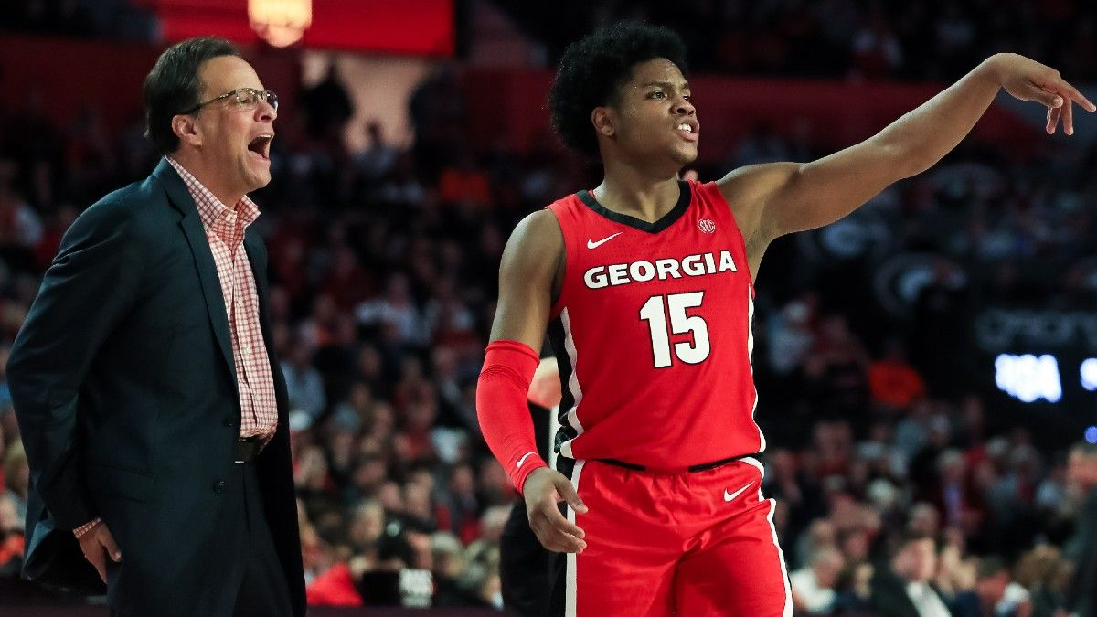 Odds & Pick for Georgia vs. Tennessee College Basketball: Bet the Bulldogs' Offense to Cover article feature image