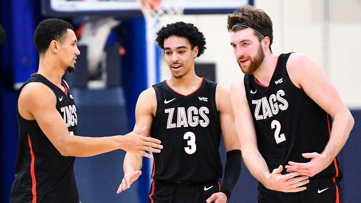 College Basketball Best Bets: Our Staff's Favorite Picks for Minnesota vs. Nebraska, Gonzaga vs. BYU, More (Monday, Feb. 8) article feature image