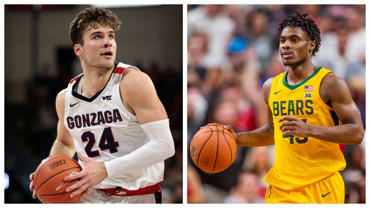 College Basketball National Title Contenders: Gonzaga & Baylor Hold Substantial Edge article feature image