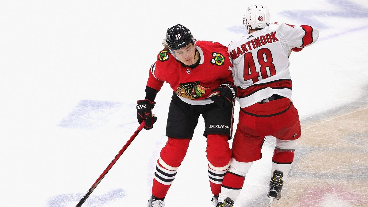 NHL Odds & Pick for Hurricanes vs. Blackhawks: Chicago Remains Live Underdog on Thursday (Feb. 4) article feature image