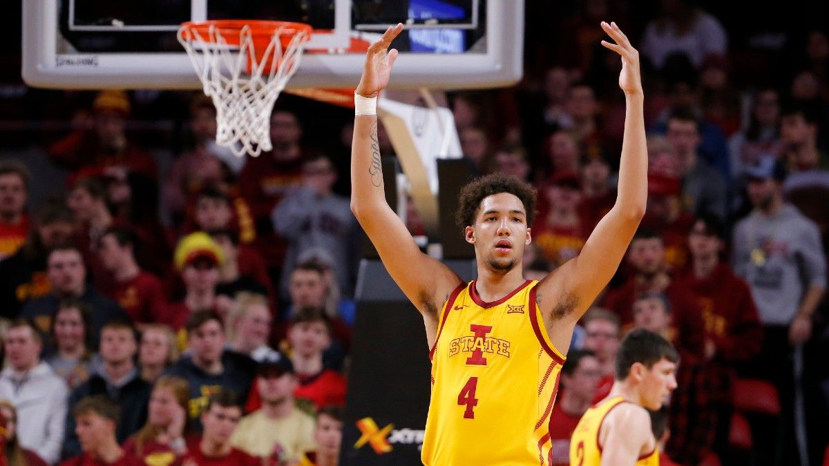 Saturday College Basketball Odds & Picks: Stuckey's Top 6 Games to Bet, including Iowa State vs. Oklahoma & 5 More Games (Feb. 20) article feature image