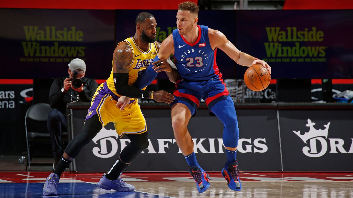 Pistons vs. Lakers NBA Odds & Picks: How to Bet This Game Based on Injury News article feature image