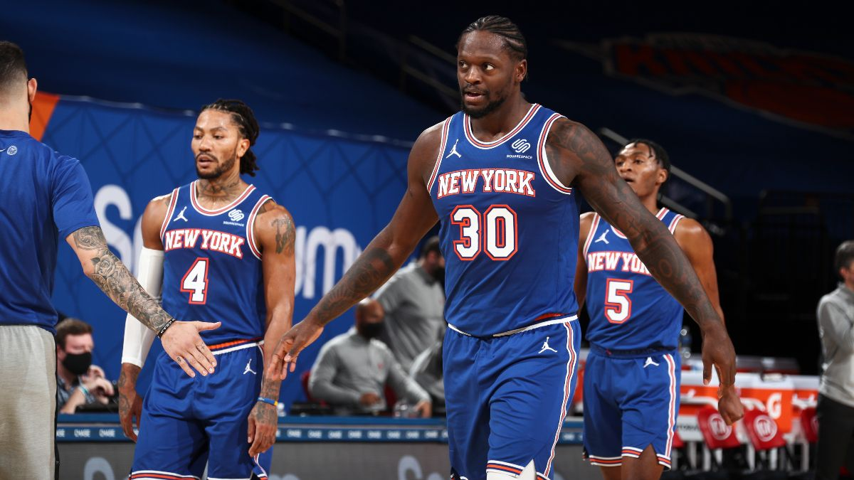 NBA Playoff Odds: Will the Knicks Make the Postseason? article feature image