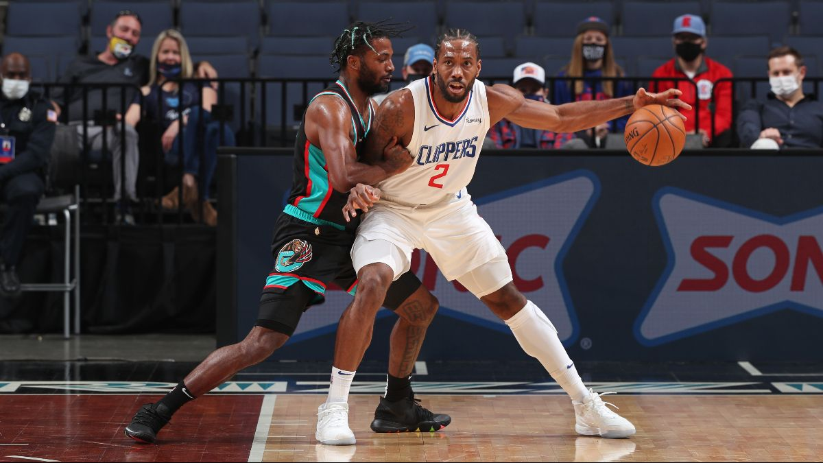 Clippers vs. Grizzlies NBA Odds & Picks: Back Kawhi Leonard and Co. to Bounce Back Friday article feature image
