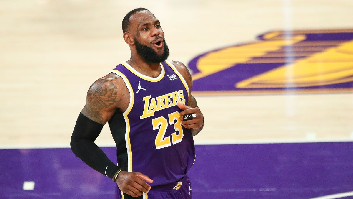 Lakers vs. Warriors Virginia Promo: Bet $1, Win $100 if the Lakers Hit a 3-Pointer! article feature image