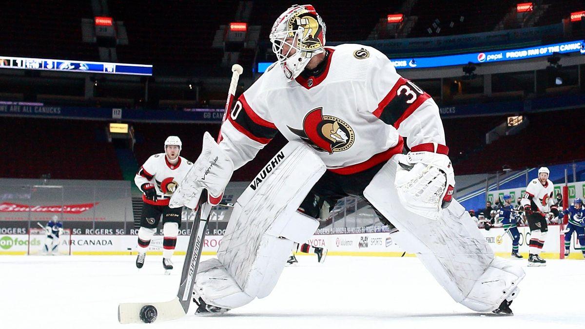 Senators vs. Oilers NHL Odds & Picks: Lean Into Ottawa's Goaltending Issues (Tuesday, Feb. 2) article feature image