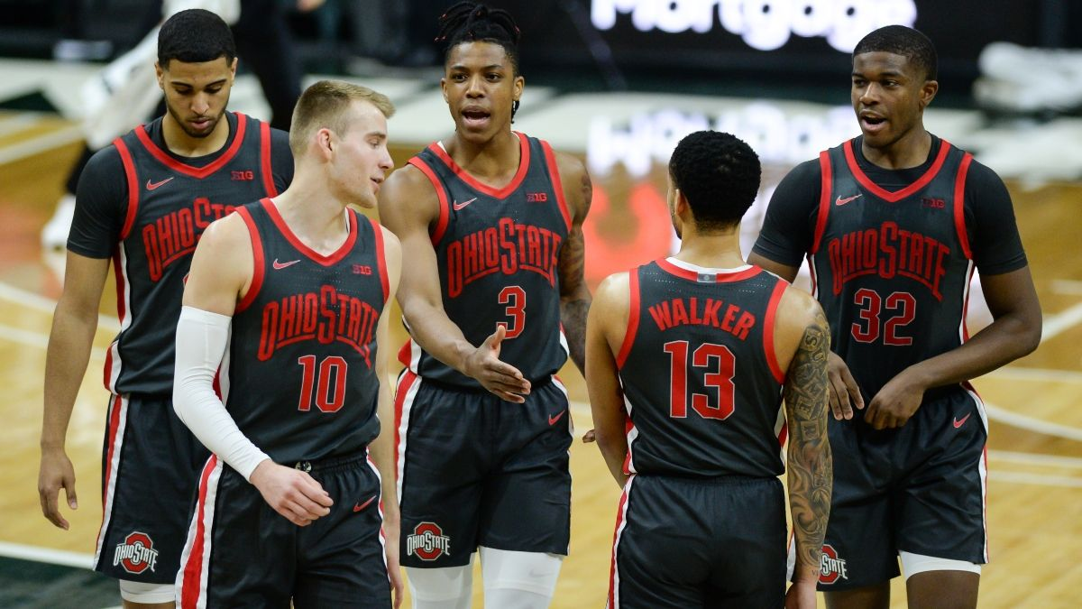 Sunday College Basketball Odds, Picks & Predictions for Iowa vs. Ohio State: Sharps Jumping On Spread (Feb. 28) article feature image