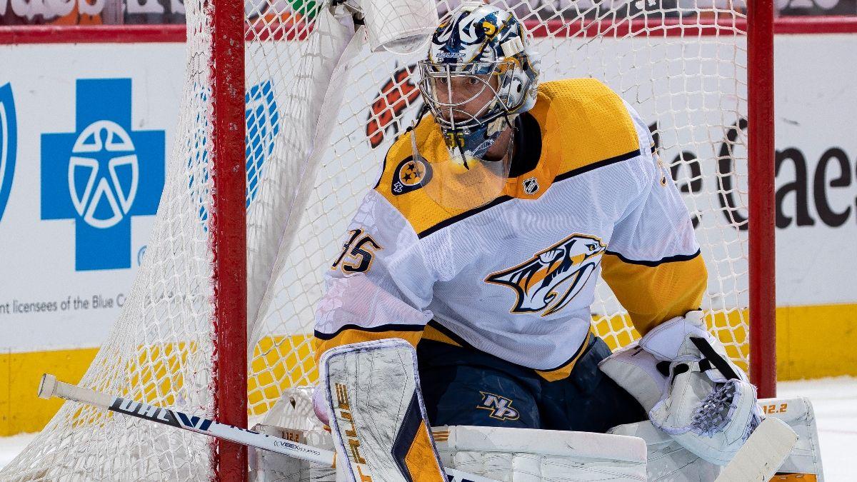 Blue Jackets vs. Predators NHL Odds & Pick: Goaltender Matchup Gives Nashville an Edge (Feb. 28) article feature image
