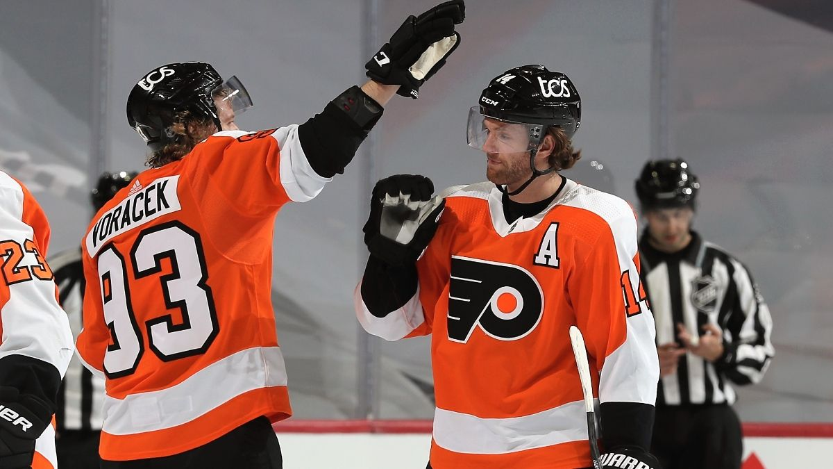Sunday NHL Betting Odds & Pick for Flyers vs. Capitals: Couturier's Return Boosts Philadelphia (Feb. 7) article feature image